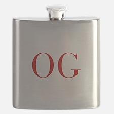 OG-bod red2 Flask