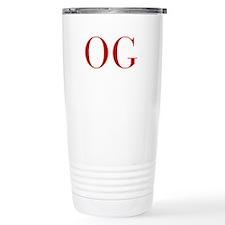 OG-bod red2 Travel Mug