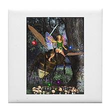 Cool Fairies Tile Coaster
