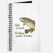 FISHING IS BETTER Journal