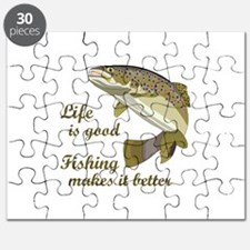 FISHING IS BETTER Puzzle