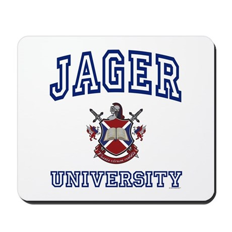 JAGER University Mousepad