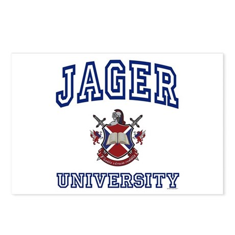 JAGER University Postcards (Package of 8)