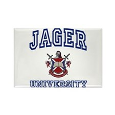 JAGER University Rectangle Magnet