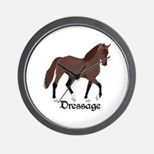 DRESSAGE HORSE Wall Clock