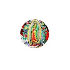 Virgin Mary - Our Lady (Señora) of Gua Mini Button