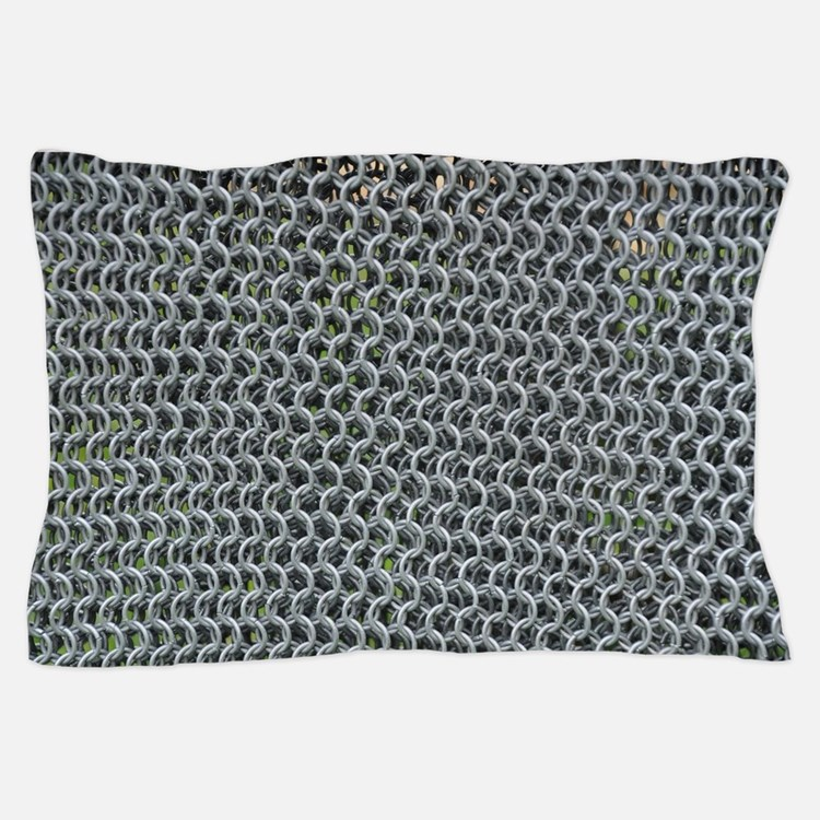 chain mail Pillow Case