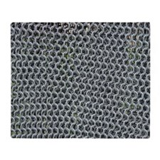 chain mail Throw Blanket