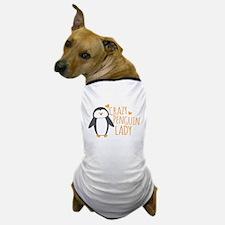 Crazy Penguin Lady Dog T-Shirt