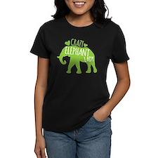 Crazy Elephant Lady T-Shirt