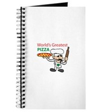 WORLDS GREATEST PIZZA Journal