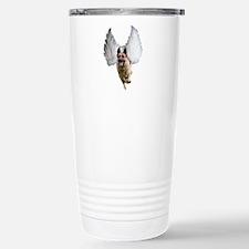 German Shepherd Angel Travel Mug