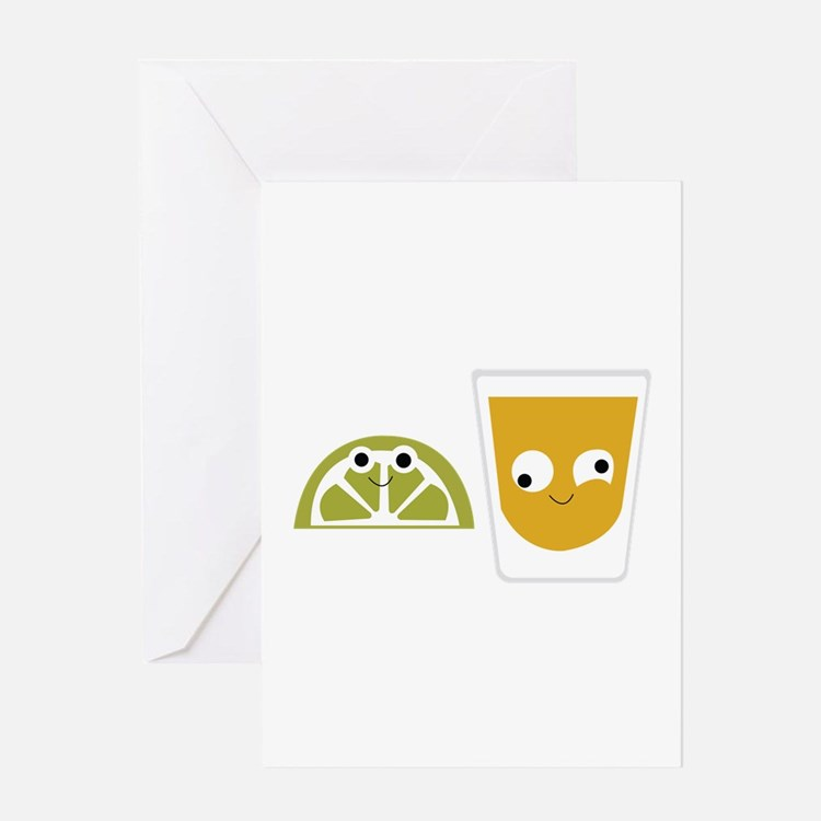 Tequila Shots Greeting Cards