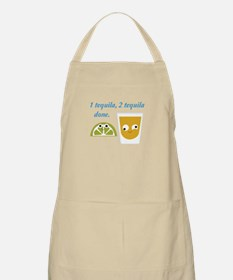 tequila 1 tequila 2 tequila Apron
