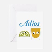 Tequila Adios Greeting Cards