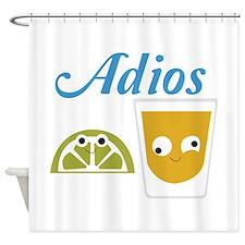 Tequila Adios Shower Curtain