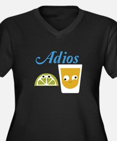 Tequila Adios Plus Size T-Shirt