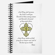 HAIL MARY ROSARY Journal
