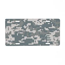 Digital Camouflage Aluminum License Plate