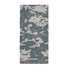 Digital Camouflage Beach Towel