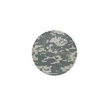 Digital Camouflage Mini Button (10 pack)