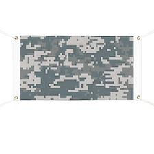 Digital Camouflage Banner