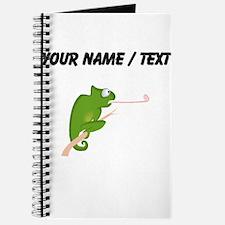 Custom Cartoon Chameleon Journal