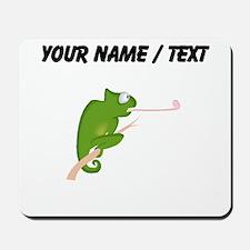 Custom Cartoon Chameleon Mousepad