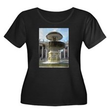 Italy Rome Vatican fountain Plus Size T-Shirt