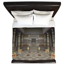 Ancient Egyptian Hall King Duvet
