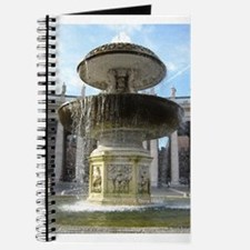 Italy Rome Vatican fountain Journal