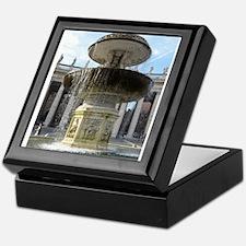 Italy Rome Vatican fountain Keepsake Box