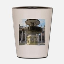 Italy Rome Vatican fountain Shot Glass