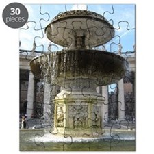 Italy Rome Vatican fountain Puzzle
