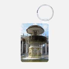 Italy Rome Vatican fountain Keychains