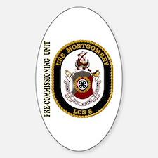 PCU Montgomery Sticker (Oval)
