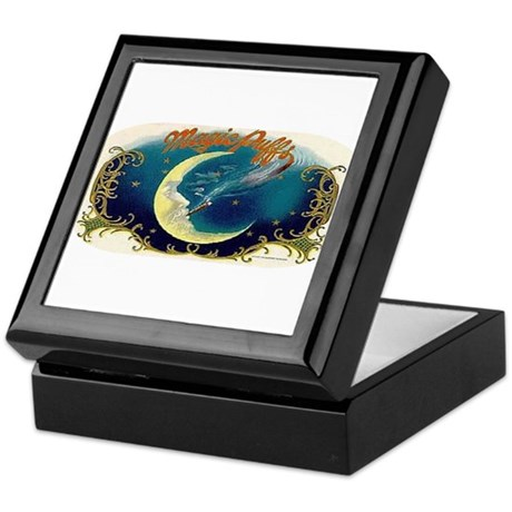 Magic Puffs Art Keepsake Box
