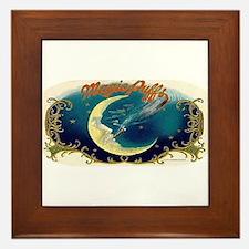 Magic Puffs Art Framed Tile