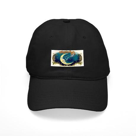 Magic Puffs Art Black Cap
