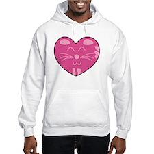 Cat Heart Hoodie