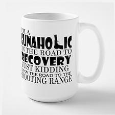 Gunaholic Gun Shop Large Mug