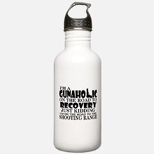 Gunaholic Gun Shop Water Bottle