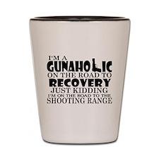 Gunaholic Gun Shop Shot Glass