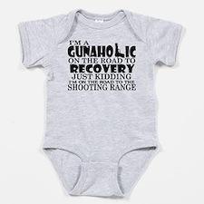 Gunaholic Gun Shop Baby Bodysuit