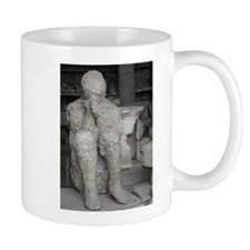 Italy Pompeii volcanic death Mugs