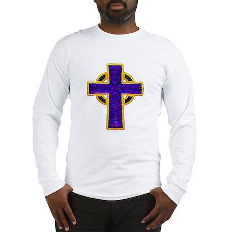 Celtic Cross Long Sleeve T-Shirt