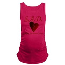 Singles Awareness Day Maternity Tank Top