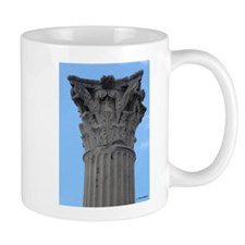 Italy Pompeii column Mugs