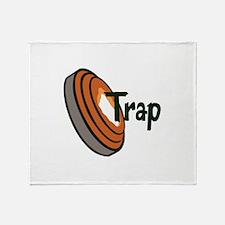 TRAP SHOOTING Throw Blanket