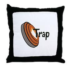 TRAP SHOOTING Throw Pillow
